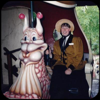 De Efteling Anne Dumoulin Bij het Lavenlaar 1994
